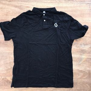 Scott Sports black polo.  XL